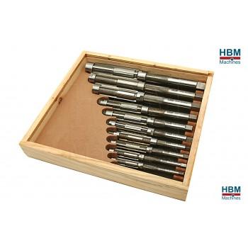 Juego de 11 Escariadores Ajustables 12-35 mm