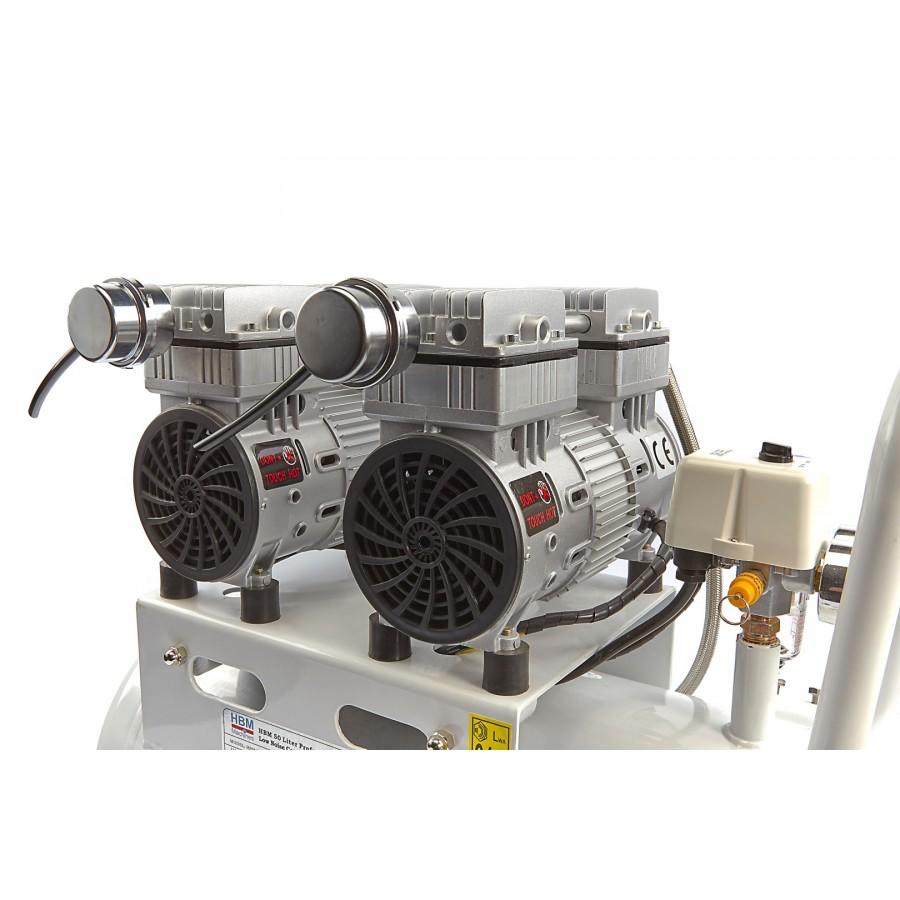 Compresor silencioso 50l profi tecnom quinas m quina - Precio de compresores de aire ...