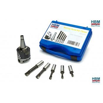 Cabezal Mandrinador ISO30 75 mm
