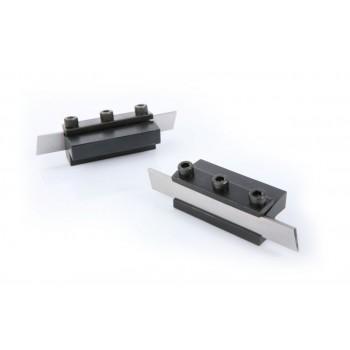 Porta-cuchilla y cuchilla de tronzar 12,75 mm