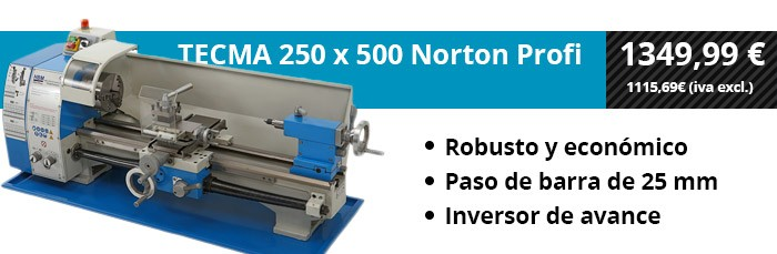 TECMA 250x550 Norton Profi