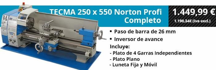 TECMA 250x550 Norton Profi Completo