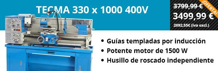 TECMA 330 x 1000 400V
