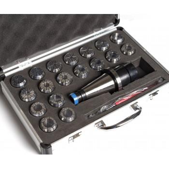Juego de Pinzas y Porta-pinzas ER32 ISO30