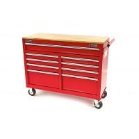 Carro/Banco de Trabajo Rojo 117 cm