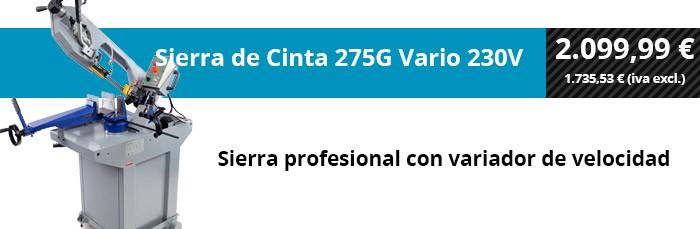 Sierra de Cinta 275G Vario 230V